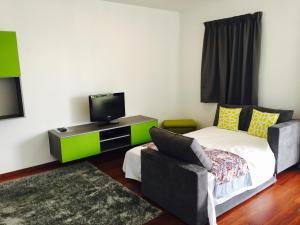 Cama ou camas em um quarto em Apartment Heitiare