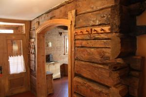 Koupelna v ubytování Chalet Shalom