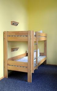 A bunk bed or bunk beds in a room at Jugendherberge Duisburg Landschaftspark