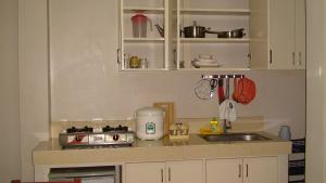 A kitchen or kitchenette at Lyn's Do Drop Inn Transient House