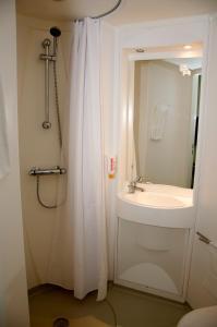 Et badeværelse på Motel X