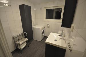 A bathroom at Etne Hytter