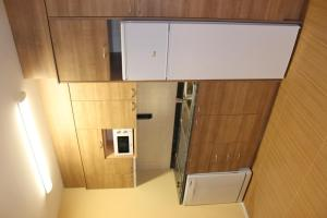 A kitchen or kitchenette at Apartamentos Costarasa