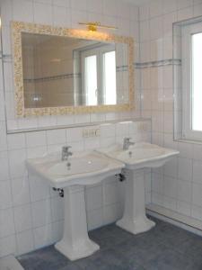 Ein Badezimmer in der Unterkunft Villa Bodenseeblick