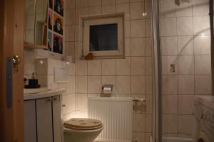 Ένα μπάνιο στο Haus Tabernig