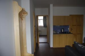 Кухня или мини-кухня в Apartment Baťův Domek
