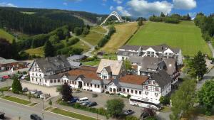 Blick auf Vakantiehotel Der Brabander aus der Vogelperspektive