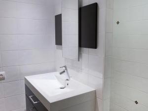 A bathroom at Apartment Les Cerfs
