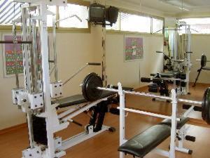 Het fitnesscentrum en/of fitnessfaciliteiten van Rosa Naútica