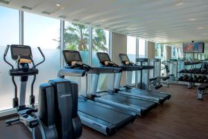 The fitness center and/or fitness facilities at Centro Capital Doha - By Rotana
