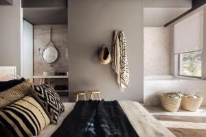 En eller flere senger på et rom på Casa Cook Rhodes (Adults Only)