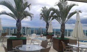 Um restaurante ou outro lugar para comer em Flat no Coraçao de Brasilia