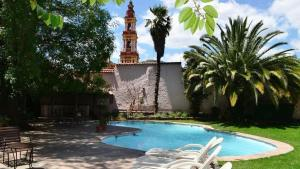 The swimming pool at or near Hotel Salta