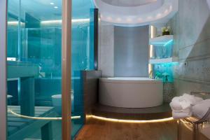Ein Badezimmer in der Unterkunft Argentina Residenza Style Hotel