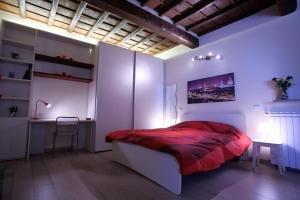 Cama o camas de una habitación en Visit Florentia Apartment