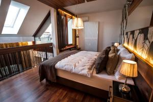 A bed or beds in a room at Zuckmann Villa