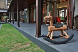 Das Fitnesscenter und/oder die Fitnesseinrichtungen in der Unterkunft Amanta Hotel Nongkhai