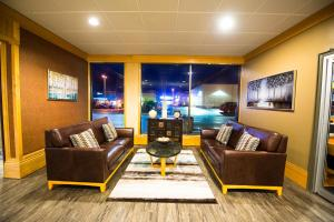 A seating area at Prestige Prince Rupert