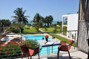 A view of the pool at Leo's Beach Hotel - Adults Only or nearby