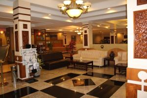The lobby or reception area at Citra Inn Hotel