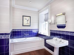 A bathroom at The Edinburgh Residence