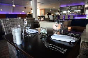 Restaurant ou autre lieu de restauration dans l'établissement Fletcher Hotel - Restaurant de Cooghen