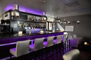 Salon ou bar de l'établissement Fletcher Hotel - Restaurant de Cooghen