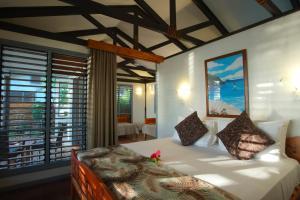 Cama o camas de una habitación en Nanuya Island Resort