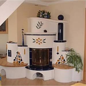 Kuchyň nebo kuchyňský kout v ubytování Ferienhaus Anna