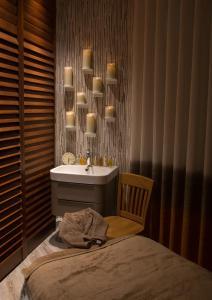 A bathroom at Ilsington Country House Hotel & Spa