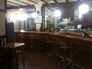 A restaurant or other place to eat at Hotel Avenida