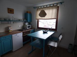 Kuhinja oz. manjša kuhinja v nastanitvi Apartments Sport Haus Duem