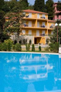 The swimming pool at or near Villa Maia