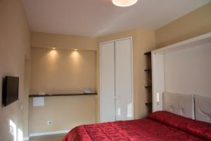 A bed or beds in a room at Minimal Signoria