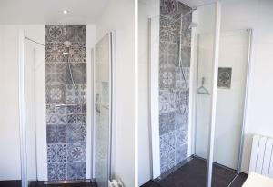 Salle de bains dans l'établissement De Molenaar