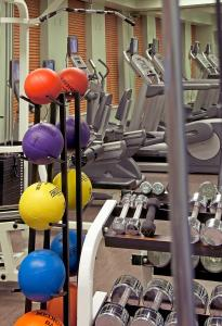 The fitness center and/or fitness facilities at The Benjamin