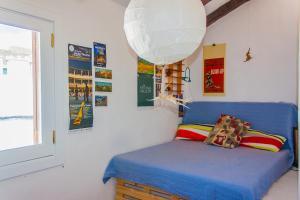 Cama o camas de una habitación en La Casilla
