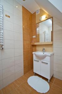 Łazienka w obiekcie Willa Bystra
