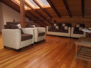 A seating area at Hostería La Condesa