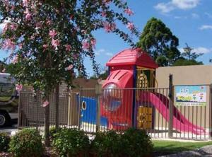 Children's play area at Highfields Motel Toowoomba