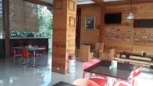 A restaurant or other place to eat at Nuwono Tasya Syariah