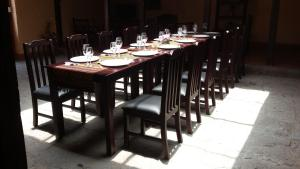 A restaurant or other place to eat at Hostería La Condesa