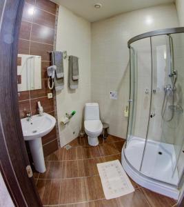 Ванная комната в Гостевой Дом Звезда