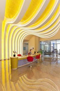 The lobby or reception area at Atrium Platinum Resort & Spa