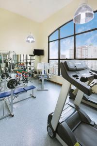 The fitness centre and/or fitness facilities at Swan Caxias do Sul