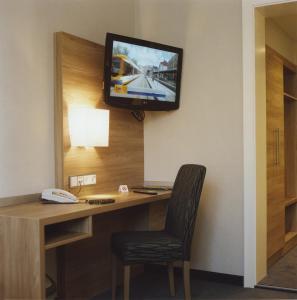 TV/Unterhaltungsangebot in der Unterkunft Hotel Jedermann