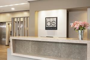 Hall ou réception de l'établissement bs Rosales Hotel