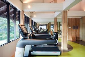 The fitness center and/or fitness facilities at Amari Koh Samui - SHA Plus