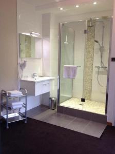 Ein Badezimmer in der Unterkunft Relais Du Vignoble