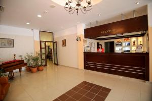 The lobby or reception area at Hotel Ciric